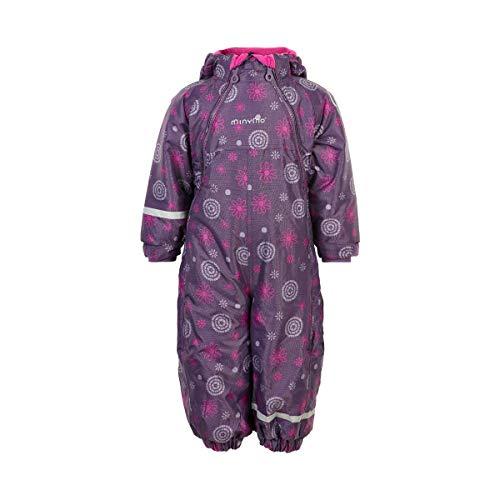 MINYMO Unisex-Child Oxford Snowsuit, Loganberry, 104