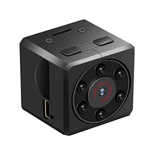 NCONCO 1080P Mini cámara portátil DV Videocámara Full HD Detección de movimiento Cámara de vigilancia para el hogar al aire libre