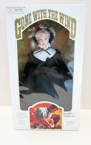 "Barbie Gone With the Wind Aunt Pittypat 12"" Collectible Doll"