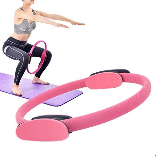 zhppac Aro Pilates AroPilatesFitness Entrenamiento Anillos Pilates Ejercicio Anillo Pilates Ejercicio Anillos Pilates Anillos Pilates elástico Anillos Pink,-