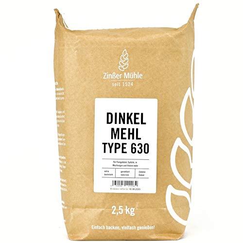 Dinkelmehl Type 630 2,5 kg