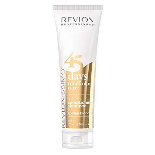 REVLON PROFESSIONAL 45 Days Conditioning Shampoo, Golden Blondes ,1er Pack (1 x 275 ml)