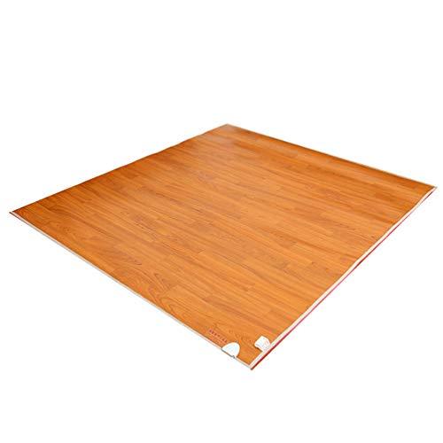 LHSG Fußwärmer Heizkissen, schnelles Heizen, rutschfeste Beschichtung auf der Unterseite, elektrische Teppichheizung mit Teppichboden für Büroangestellte/Spieler im Winter