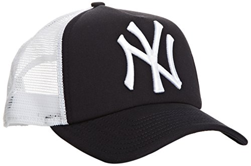 New Era MLB Trucker NY Yankees Gorra de béisbol, Azul Marino, M para Hombre