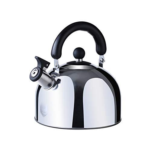 En acier inoxydable 304 haute qualité Whistle sur la cuisinière bouilloires 3L Ménage cuisinière à gaz cuisinière universelle