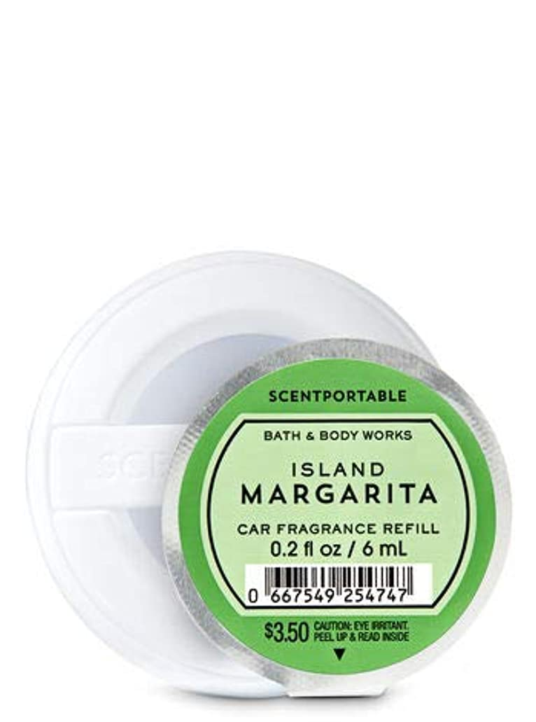 スリチンモイ割り当て発掘する【Bath&Body Works/バス&ボディワークス】 クリップ式芳香剤 セントポータブル詰替えリフィル アイランドマルガリータ Scentportable Fragrance Refill Island Margarita [並行輸入品]
