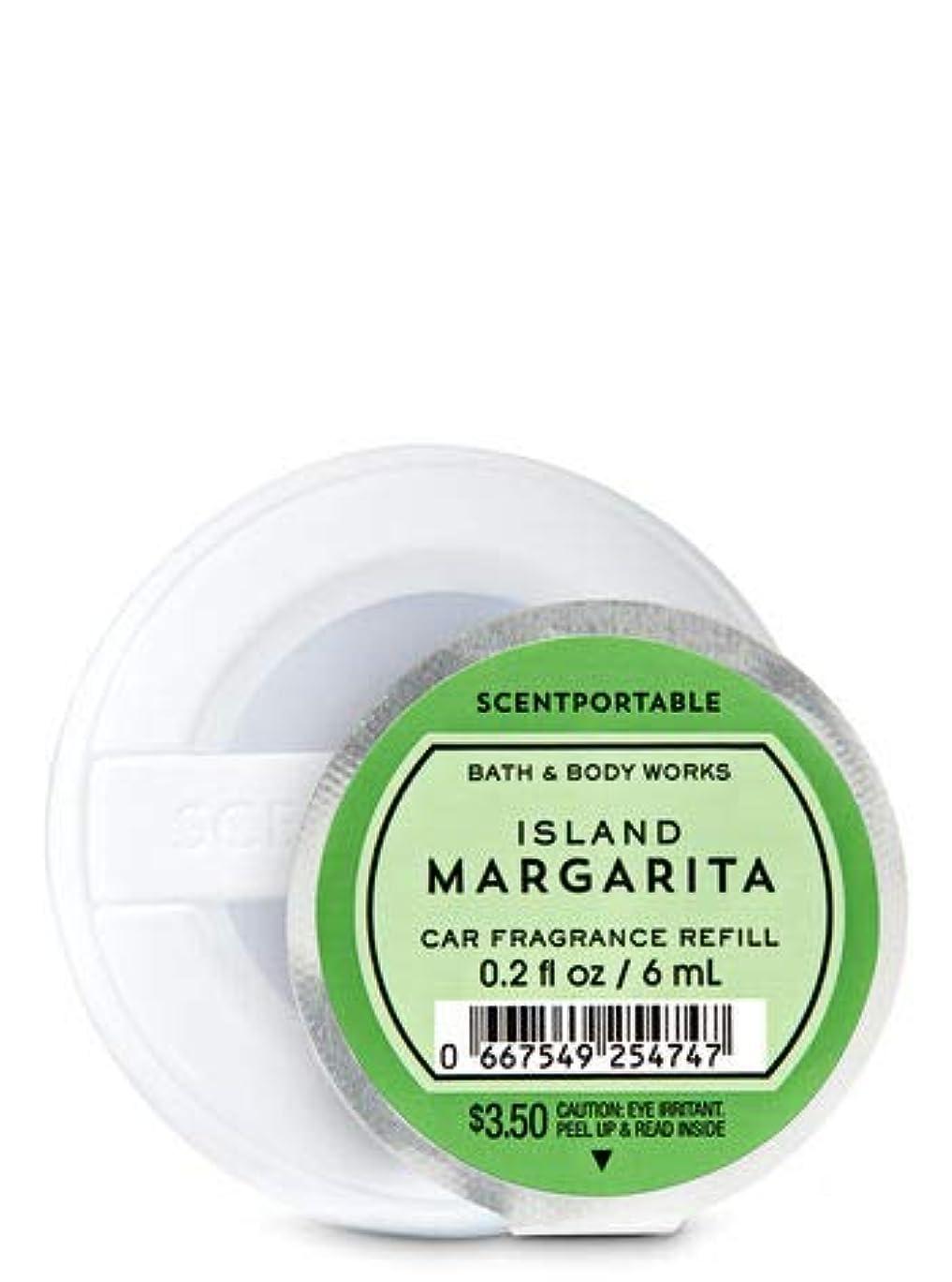 マイクロ派生する震える【Bath&Body Works/バス&ボディワークス】 クリップ式芳香剤 セントポータブル詰替えリフィル アイランドマルガリータ Scentportable Fragrance Refill Island Margarita [並行輸入品]