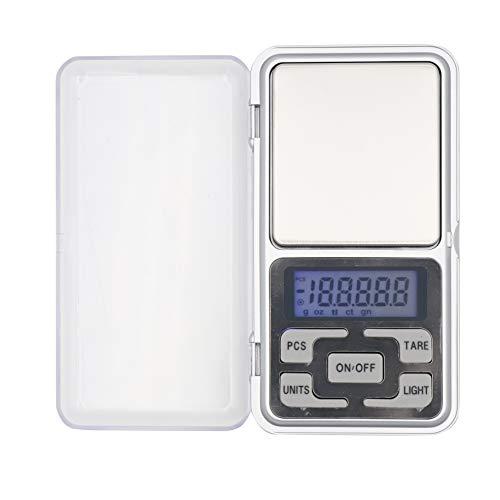Mini Bascula Escala Digital de Bolsillo 0.01-500g SANDA Bás