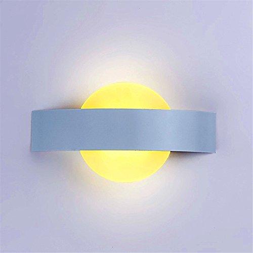 WEXLX Acrylique moderne applique murale Wall Lamp pour balcons largeur25cm hauteur13 cm Lumière chaude