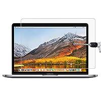 強化ガラスフィルム 9H表面硬度HD MacBook Pro 15.4インチ(A1286)用防爆型強化ガラスフィルム スクリーンプロテクター