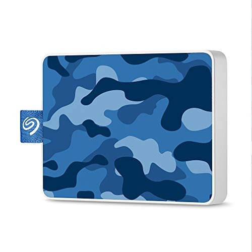 Seagate One Touch 500GB Camouflage magenta