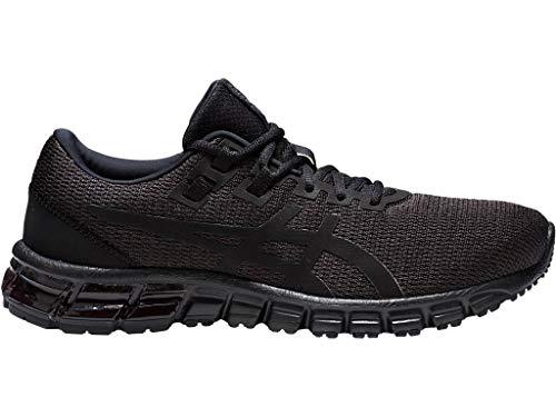 ASICS Men's Gel-Quantum 90 Running Shoes, 10M, Black/Black