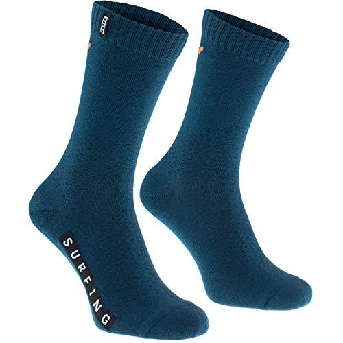 Ion Traze Fahrrad Socken blau/orange 2020: Größe: 39-42