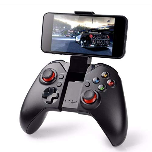 WANGCHENGLONG Mobile Game Controller Wireless Controller Bluetooth Gamepad for Android Smart Phones/iPhone/Tablet/Smart TV/TV Box and Other Equipment.