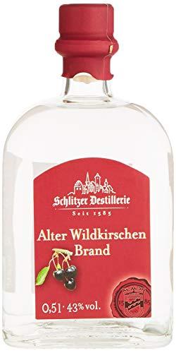 Schlitzer Alter Wildkirschenbrand 43% vol, 0,5 l