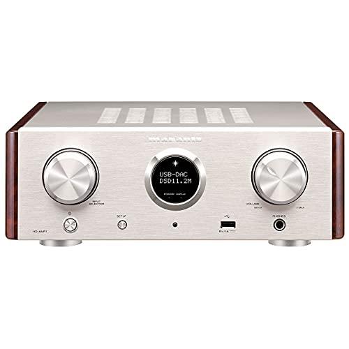 Amplificatore Marantz HD-AMP 1/N1SG Premium con convertitore audio/digitale, 2da 70W, colore: argento/oro