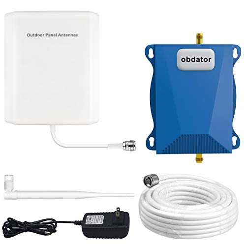 Verizon 4G LTE Cell Phone Signal Booster High Gain 65dB Cell Signal Amplifier obdator FDD 700Mhz Band 13 Mobile Phone Signal Booster for Home and Office