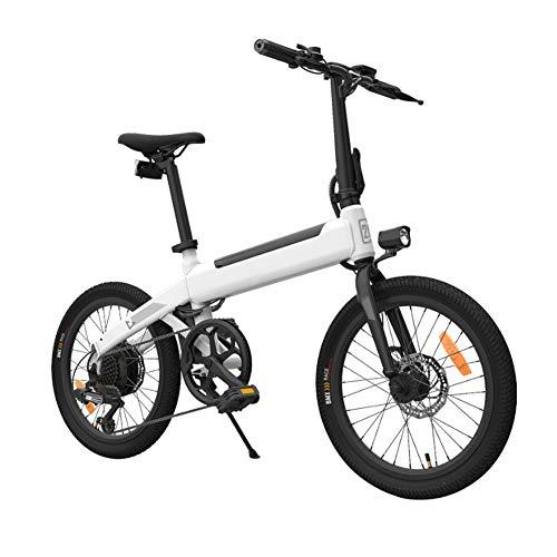 Lanceasy Bicicletas Electricas Plegables, Ciclomotor 25 km/h Velocidad 80 km Bicicleta 250 W Motor sin escobillas, Entrega en 3 a 7 días