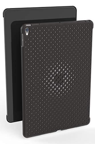 AndMesh 9.7インチiPad Pro ケース 純正スマートカバー対応背面メッシュケース | チャコールグレイ AMMSD70...
