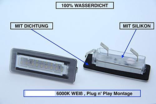 2 x Top Module SMD LED 18 LEDs Kennzeichenbeleuchtung Nummernschildbeleuchtung (217)