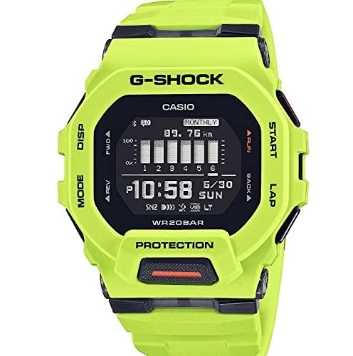Casio G-Shock G-Squad Digitaluhr Bluetooth Neongelb GBD-200-9ER