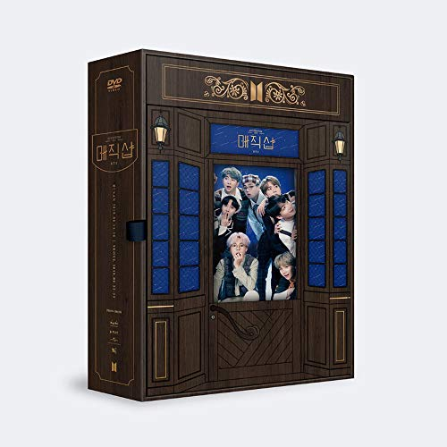 2019 BTS 5th Muster Magic Shop DVD (inkl. Einer zufälligen BTS Acryl-Fotokarte)