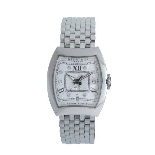 Bedat 314.011.109 - Orologio da polso, acciaio inox, colore: argento