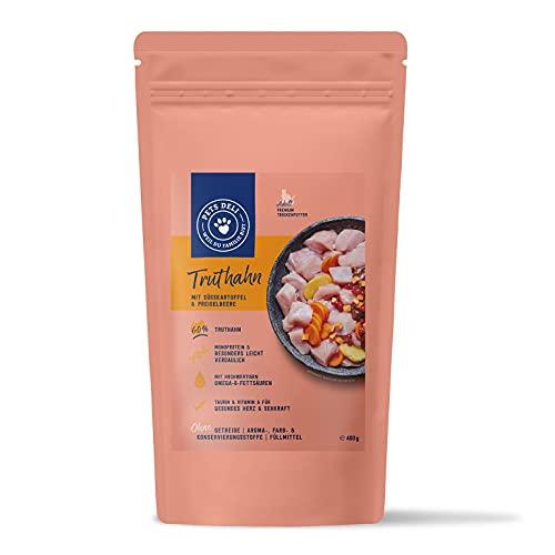Trockenfutter für Katzen | Truthahn mit Süßkartoffel und Preiselbeere | 400g