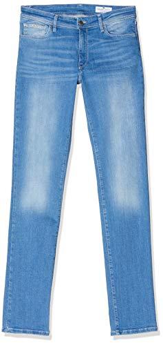 Cross Jeans Damen Anya P 489-162 Slim Jeans, Blau (Light Blue 163), W28/L34 (Herstellergröße: 28/34)
