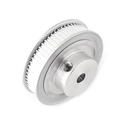 Yosoo Health Gear Ruota sincrona GT2, 60 Denti 2GT Puleggia per Cinghia dentata Pulegge dentate in Alluminio con Foro da 5 mm per Stampante 3D Cinghia di Larghezza 6 mm