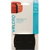3-Pack VELCRO Brand ONE-WRAP Reusable Pre-cut & Self Gripping Ties