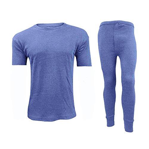 Adam Home Thermische heren Warm ondergoed T Shirt & Lange Johannes Set S M L XL XXL