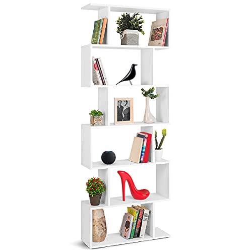 Librerias Estrechas Blancas Marca COMIFORT