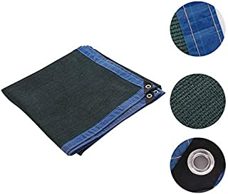 BELUPAID Shade Sails 6-pin Rectangle Dark Green UV Block Sun Shade Cloth Canopy for Patio Garden Outdoor Facility Carport