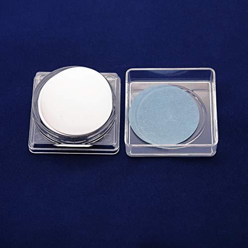 AMTAST PTFE Membrane Disc Filter, Hydrophobic, 47mm Diameter, 0.45µm Pore Size (Pack of 50)