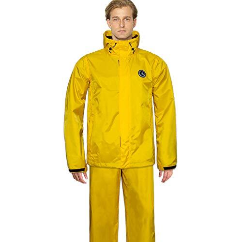 Navis Marine Fishing Jacket with Bib Pants Waterproof Men Women Rain Suits Breathable Durable
