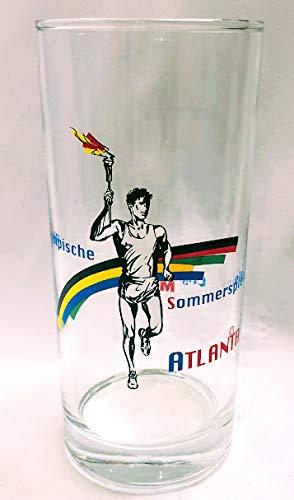 Original Bayerisch Malz 0,2l Glas/Olympische Sommerspiele Atlanta/Bierglas/Bier/Sonderedition/Sammelglas