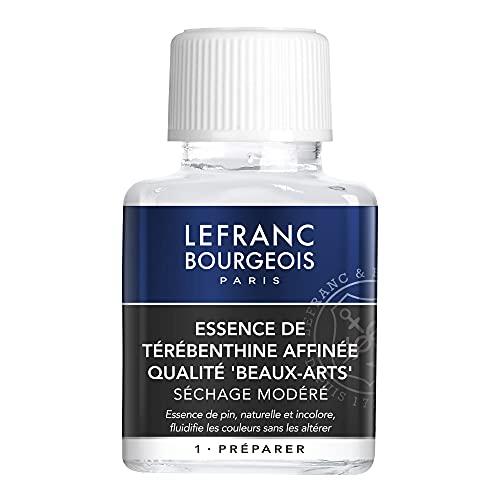 Lefranc Bourgeois Additif Essence Térébenthine Flacon 75ml