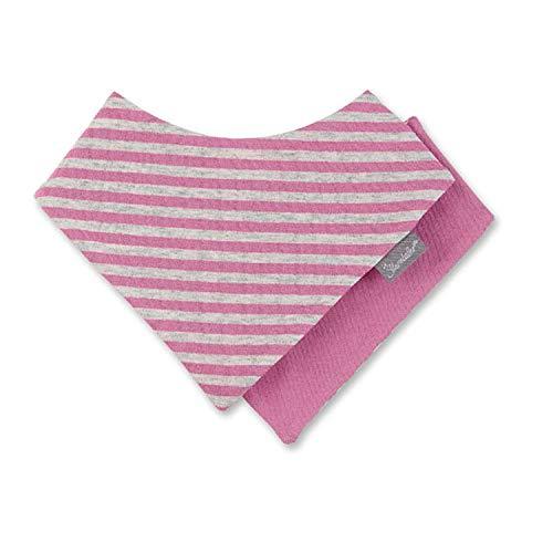 Sterntaler - baby jongens driehoekige sjaal halsdoek klittenbandsluiting gestreept, donkerblauw - 1101800