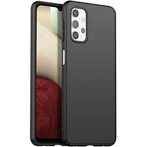 Eabhulie Galaxy A32 5G Funda, Ultra Delgado Ligero Dura Mate PC Caso Anti-rasguño Antideslizante Carcasa para Samsung Galaxy A32 5G Negro