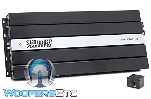 Sundown Audio SAE-3000D Monoblock 3000W RMS Digital Class D Amplifier