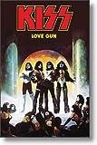 Unbekannt Kiss Poster Love Gun