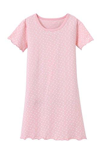 ABClothing Mädchen ärmelloses weißes Baumwoll-Nachthemd Alter 9-10 Jahre