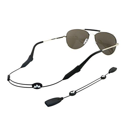 Philonext Brillenhalterung, Universal-Brillenkette, Anpassbar, Unisex, Sportbrillenhalterungsband, 2-er Set
