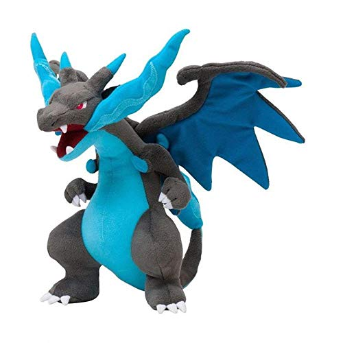 Dele Alli Mega Charizard Plush Toys Mega Evolution X Charizard Plush Soft Stuffed Animals Toys for Kids Children Gifts
