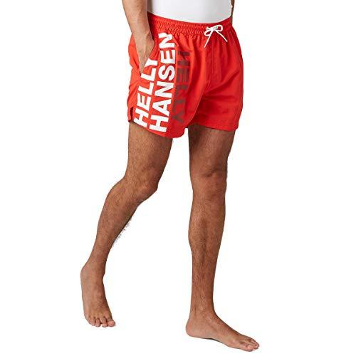Helly Hansen Cascais - Bañador para Hombre, Hombre, Bañador para Hombre, 34031, Alert, XX-Large