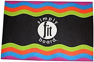 Simply Fit Board Workout Mat Official As Seen On TV , Black