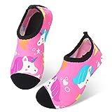 JIASUQI Kids Boys Girls Water Shoes