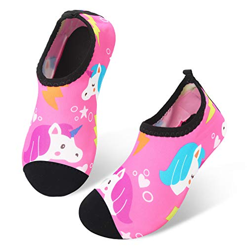 JIASUQI Kids Boys Girls Water Shoes
