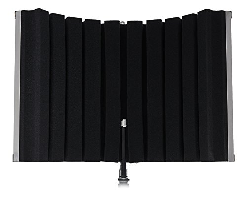 Marantz Professional Sound Shield Compact - Escudo de aislamiento de micrófono compacto con filtro protector portátil profesional con espuma acústica de alta densidad para grabación de voz